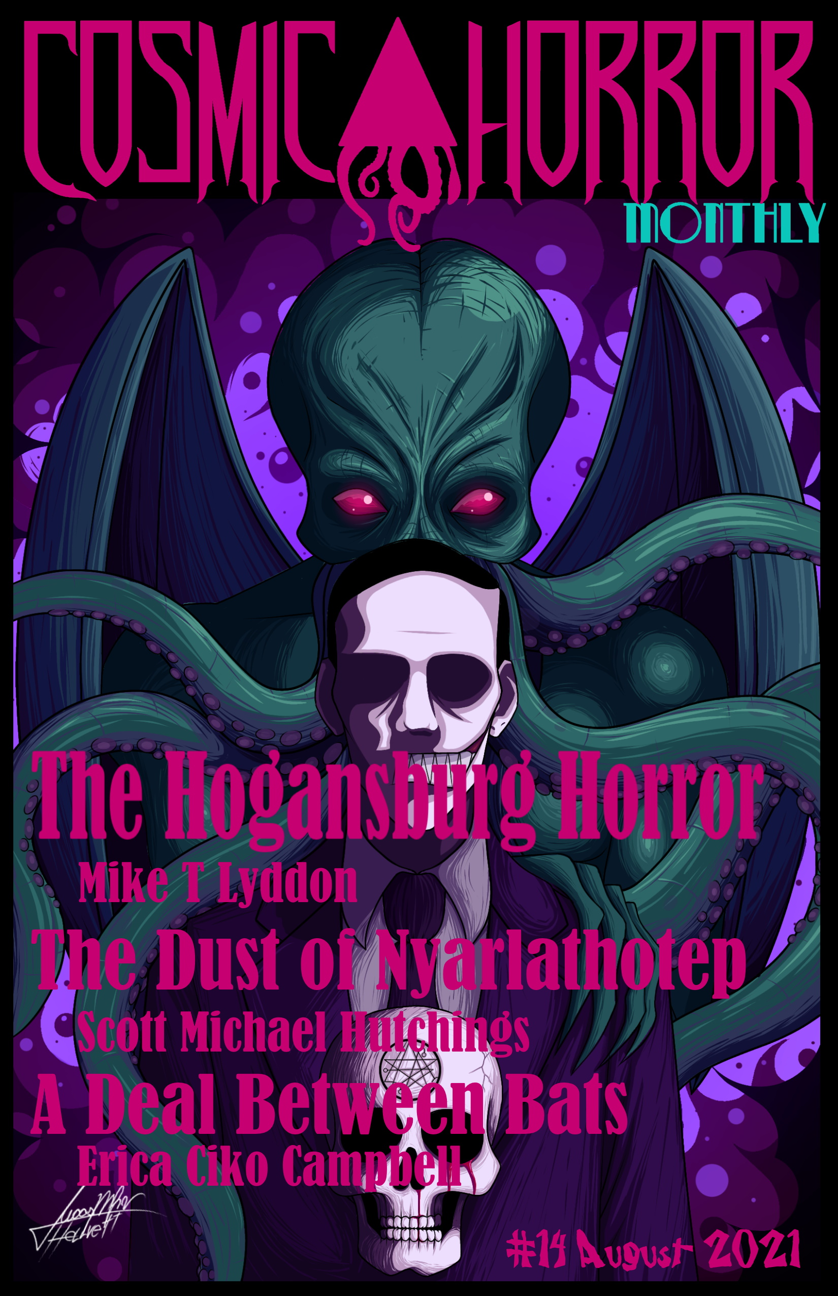 Reflections on My Favorite Author, and the Honor of Being Published in a Special Issue of Cosmic Horror Monthly Devoted Entirely to Him